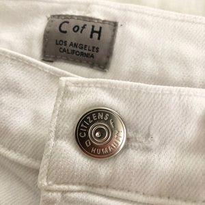 Citizens Of Humanity Jeans - NWOT CoH White Denim Rocket Jeans